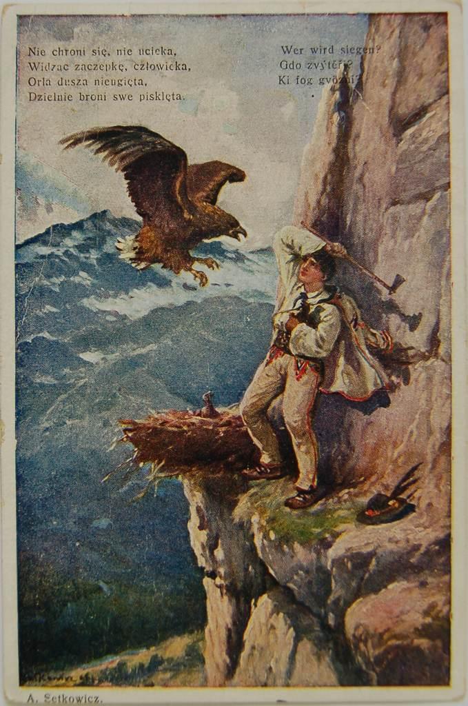Pocztówka patriotyczna