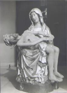Pieta, rzeźba z 1690